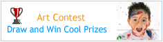 Art Contest - Draw and win cool prizes